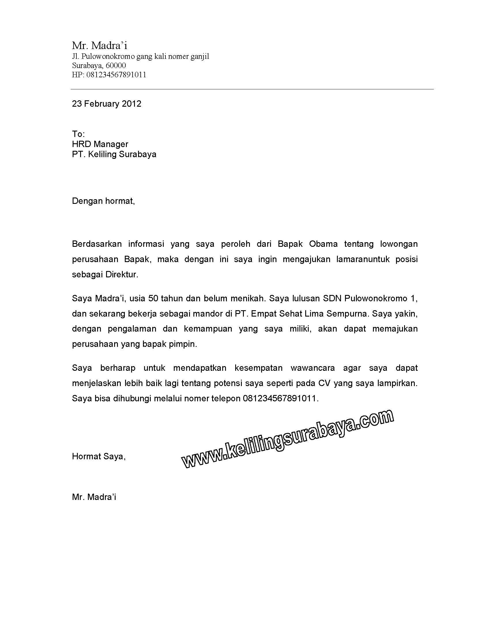 Contoh Application Letter Flight Attendant Sports Cover Letter - Resume-letter-contoh